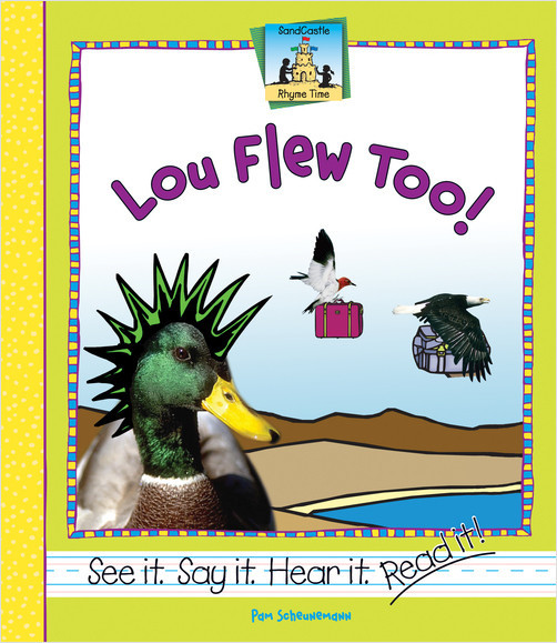 Cover: Lou Flew Too!