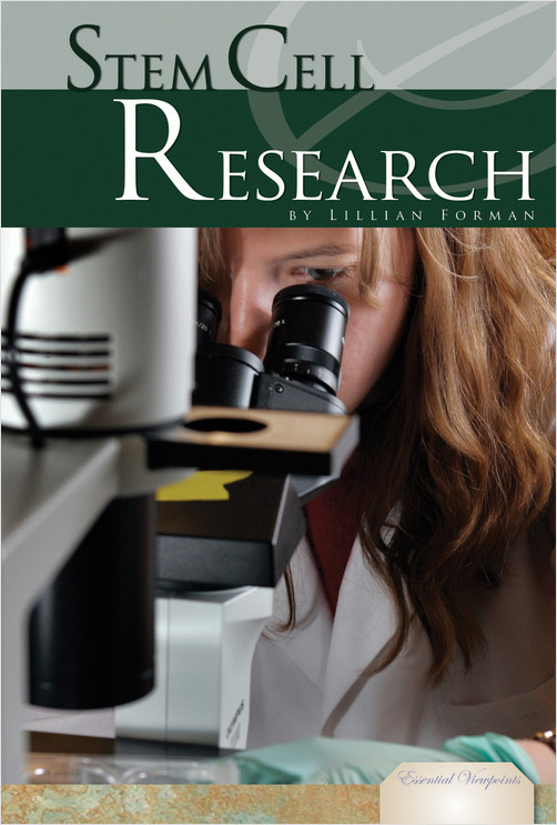 Cover: Stem Cell Research