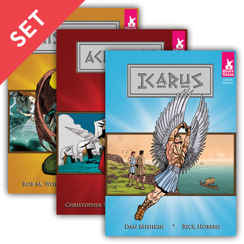 Cover: Short Tales Greek Myths