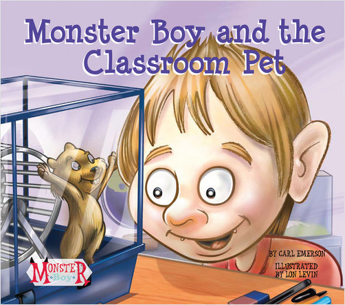 Cover: Monster Boy and the Classroom Pet
