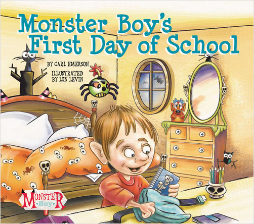 Cover: Monster Boy's First Day of School