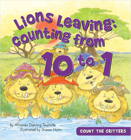 Cover: Lions Leaving:Counting from 10 to 1