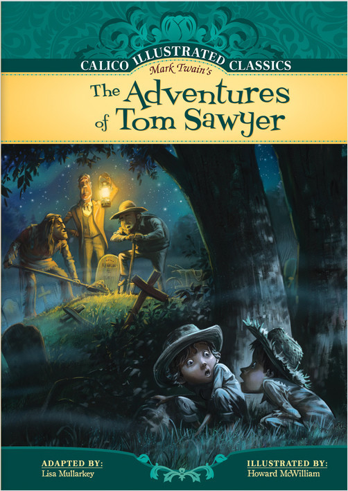 Cover: Adventures of Tom Sawyer
