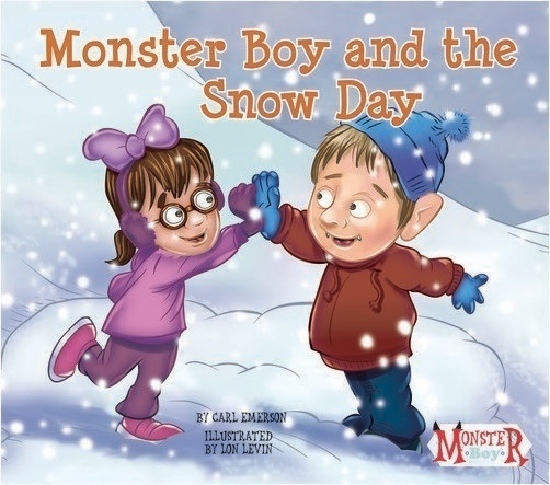 Cover: Monster Boy and the Snow Day