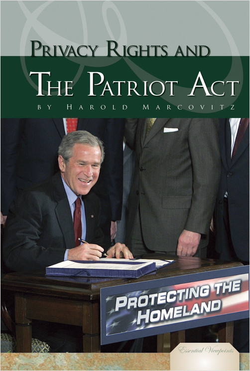Cover: Privacy Rights and The Patriot Act