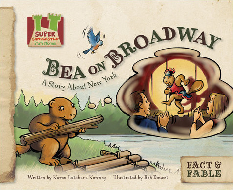 Cover: Bea on Broadway: A Story About New York