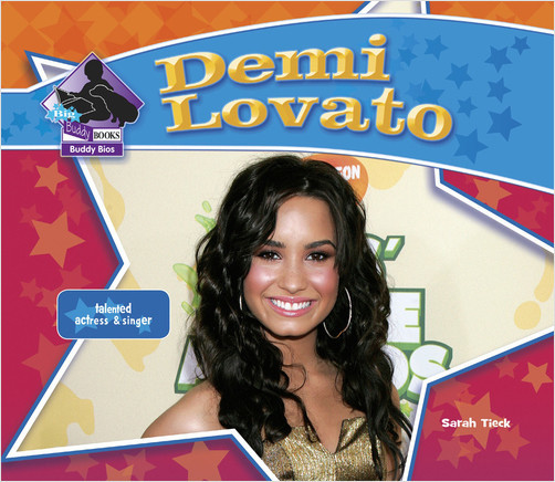 Cover: Demi Lovato:Talented Actress & Singer
