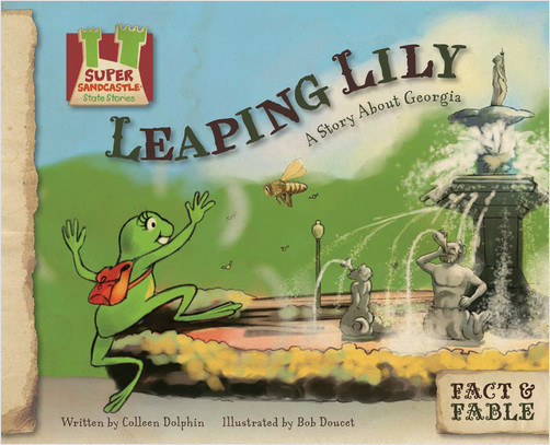 Cover: Leaping Lily: A Story about Georgia