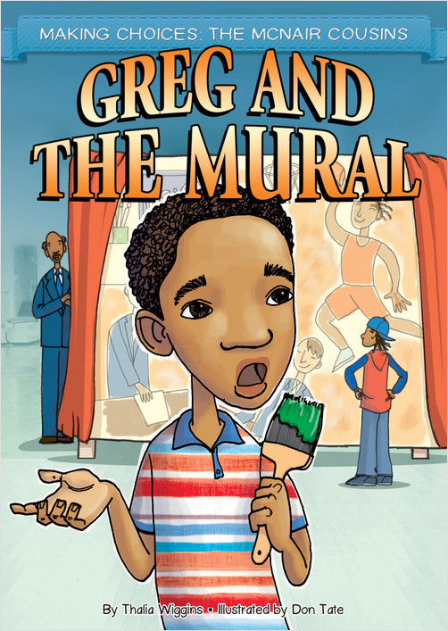 Cover: Greg and the Mural