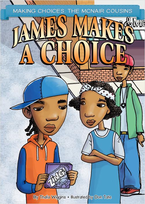 Cover: James Makes a Choice