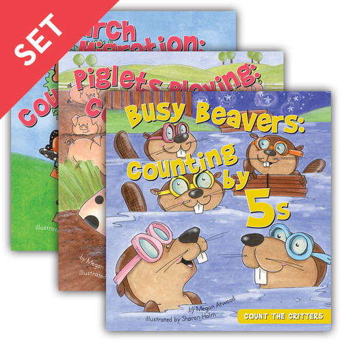 Cover: Count the Critters Set 2