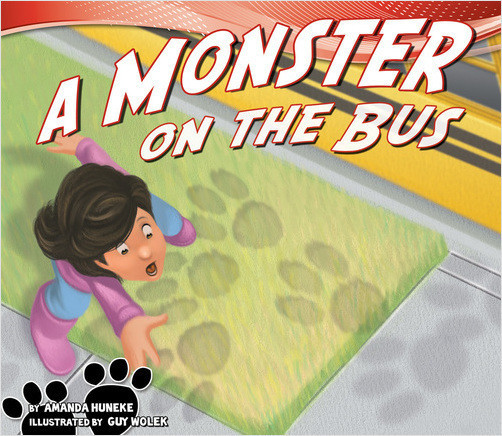 Cover: A Monster on the Bus