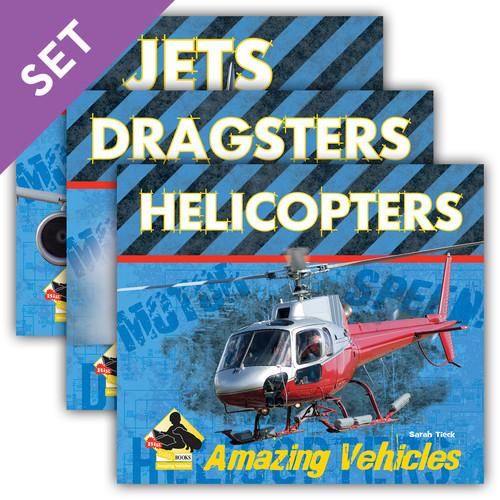 Cover: Amazing Vehicles
