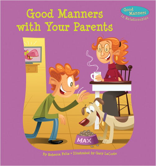 Cover: Good Manners with Your Parents