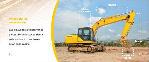 Cover: Excavadoras (Excavators)