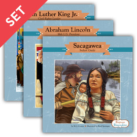 Cover: Beginner Biographies Set 1