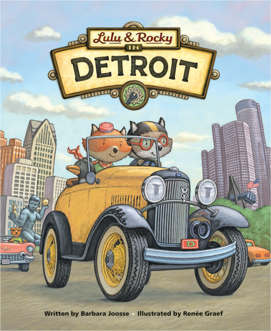 Cover: Lulu & Rocky in Detroit