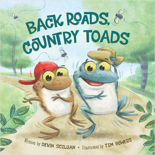 Cover: Back Roads, Country Toads