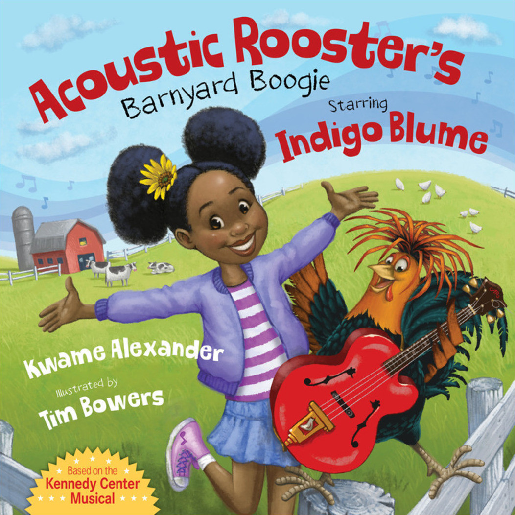 Cover: Acoustic Rooster's Barnyard Boogie Starring Indigo Blume
