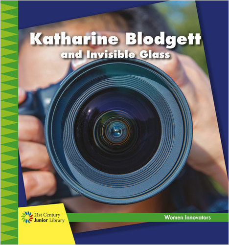 Cover: Katharine Blodgett and Invisible Glass