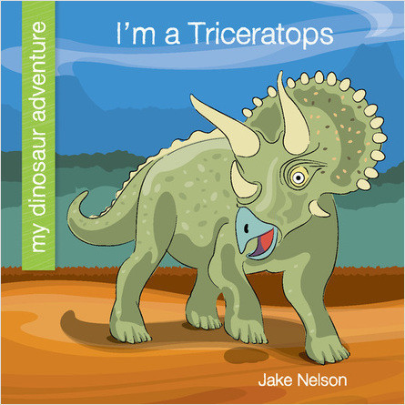 Cover: I'm a Triceratops