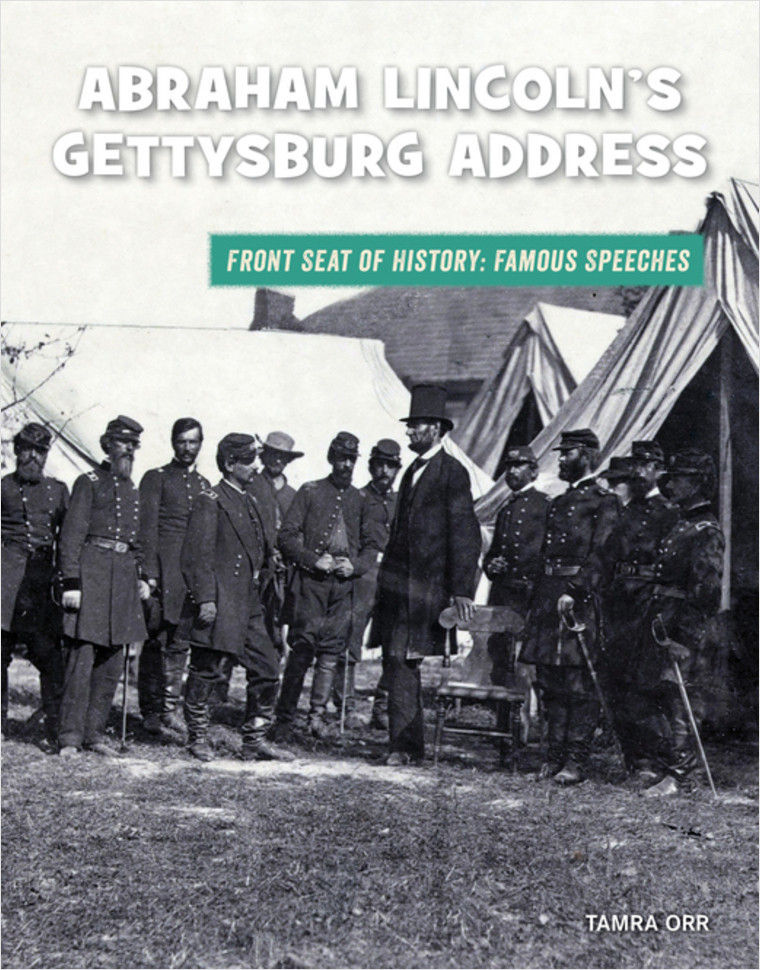 Cover: Abraham Lincoln's Gettysburg Address