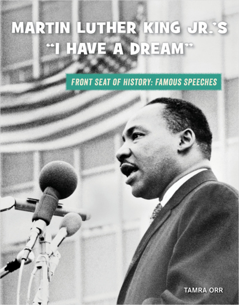 """Cover: Martin Luther King Jr.'s """"I Have a Dream"""""""