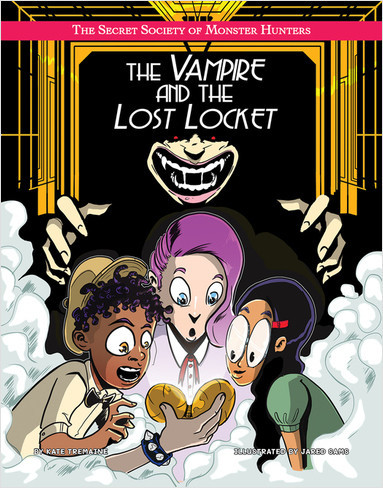 Cover: The Vampire and the Lost Locket