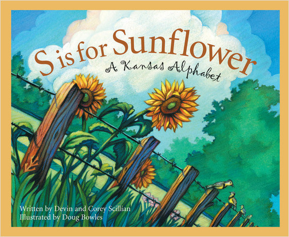 Cover: S is for Sunflower: A Kansas Alphabet