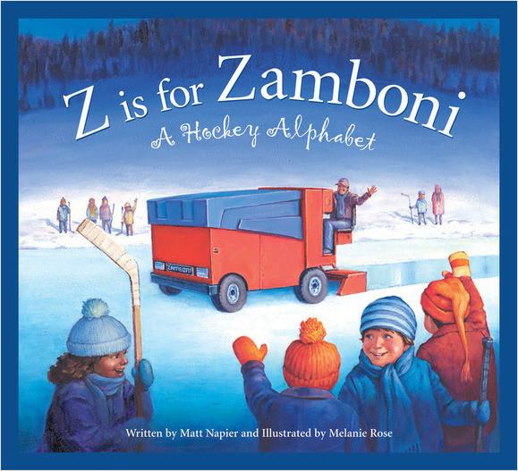 Cover: Z is for Zamboni: A Hockey Alphabet