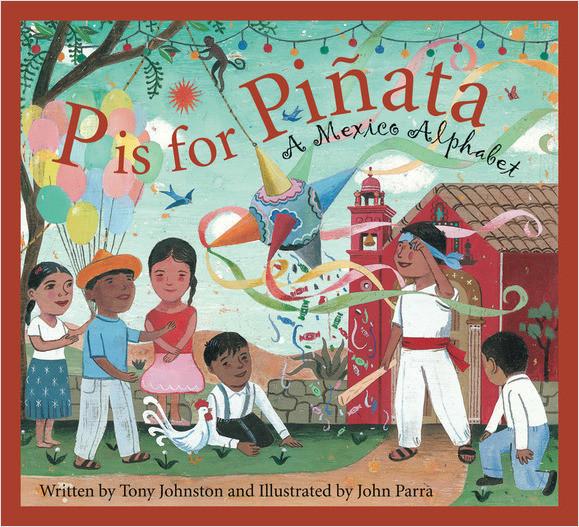 Cover: P is for Pinata: A Mexico Alphabet