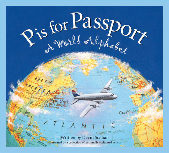 Cover: P is for Passport: A World Alphabet