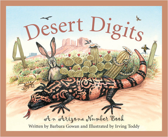 Cover: Desert Digits: An Arizona Number Book