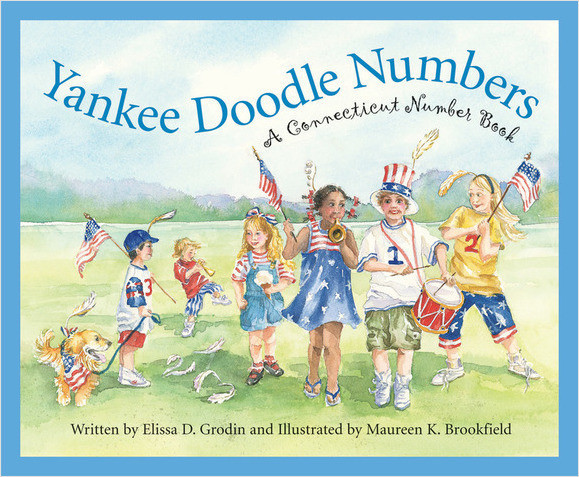Cover: Yankee Doodle Numbers: A Connecticut Number Book