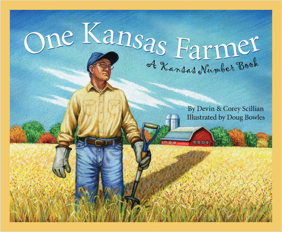 Cover: One Kansas Farmer: A Kansas Number Book