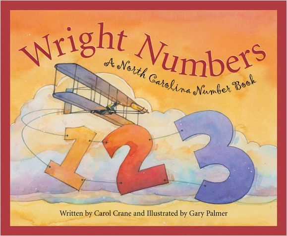 Cover: Wright Numbers: A North Carolina Number Book