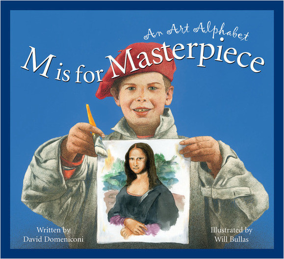 Cover: M is for Masterpiece: An Art Alphabet