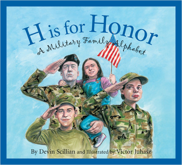 Cover: H is for Honor: A Millitary Family Alphabet