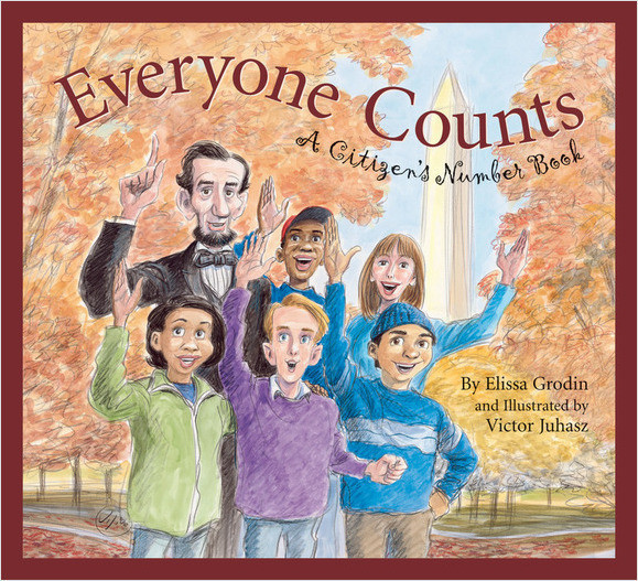 Cover: Everyone Counts: A Citizens' Number Book