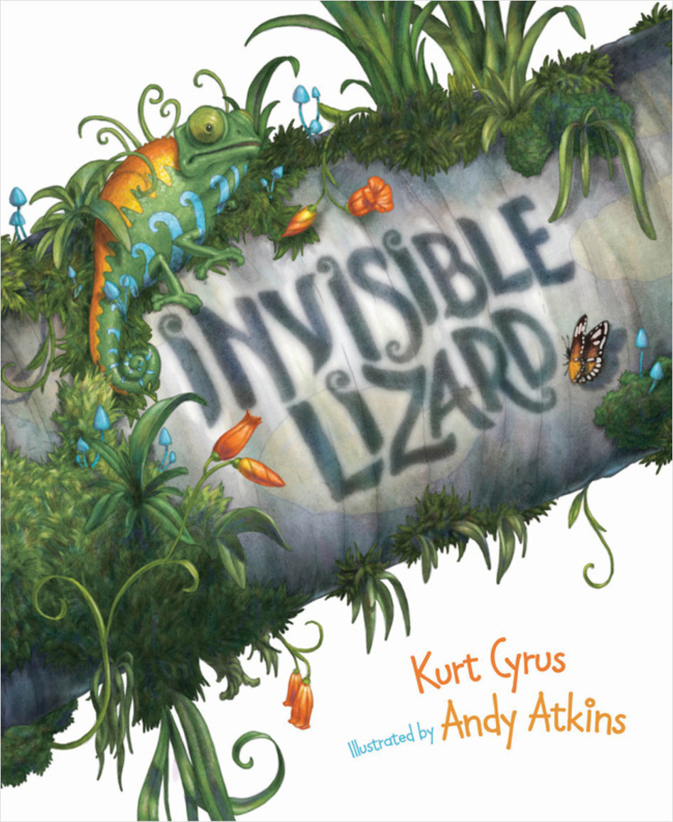 Cover: Invisible Lizard