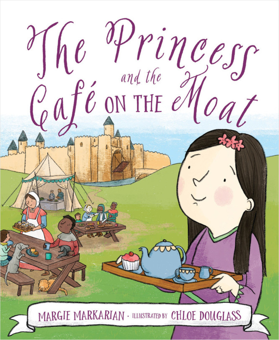 Cover: The Princess and the Cafe on the Moat