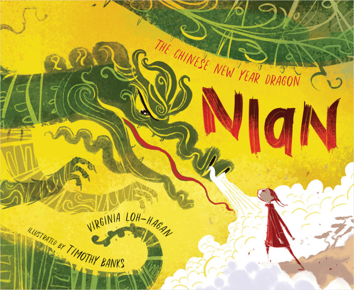 Cover: Nian, The Chinese New Year Dragon