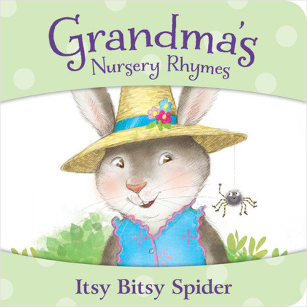 Cover: Grandma's Nursery Rhymes: Itsy Bitsy Spider