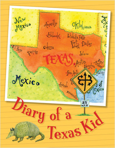 Cover: Diary of a Texas Kid