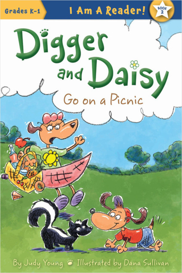 Cover: Digger and Daisy Go On a Picnic