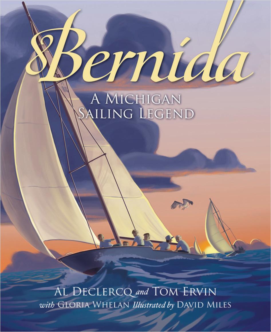Cover: Bernida: A Michigan Sailing Legend