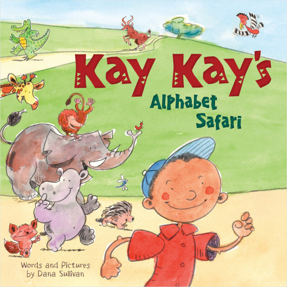 Cover: Kay Kay's Alphabet Safari