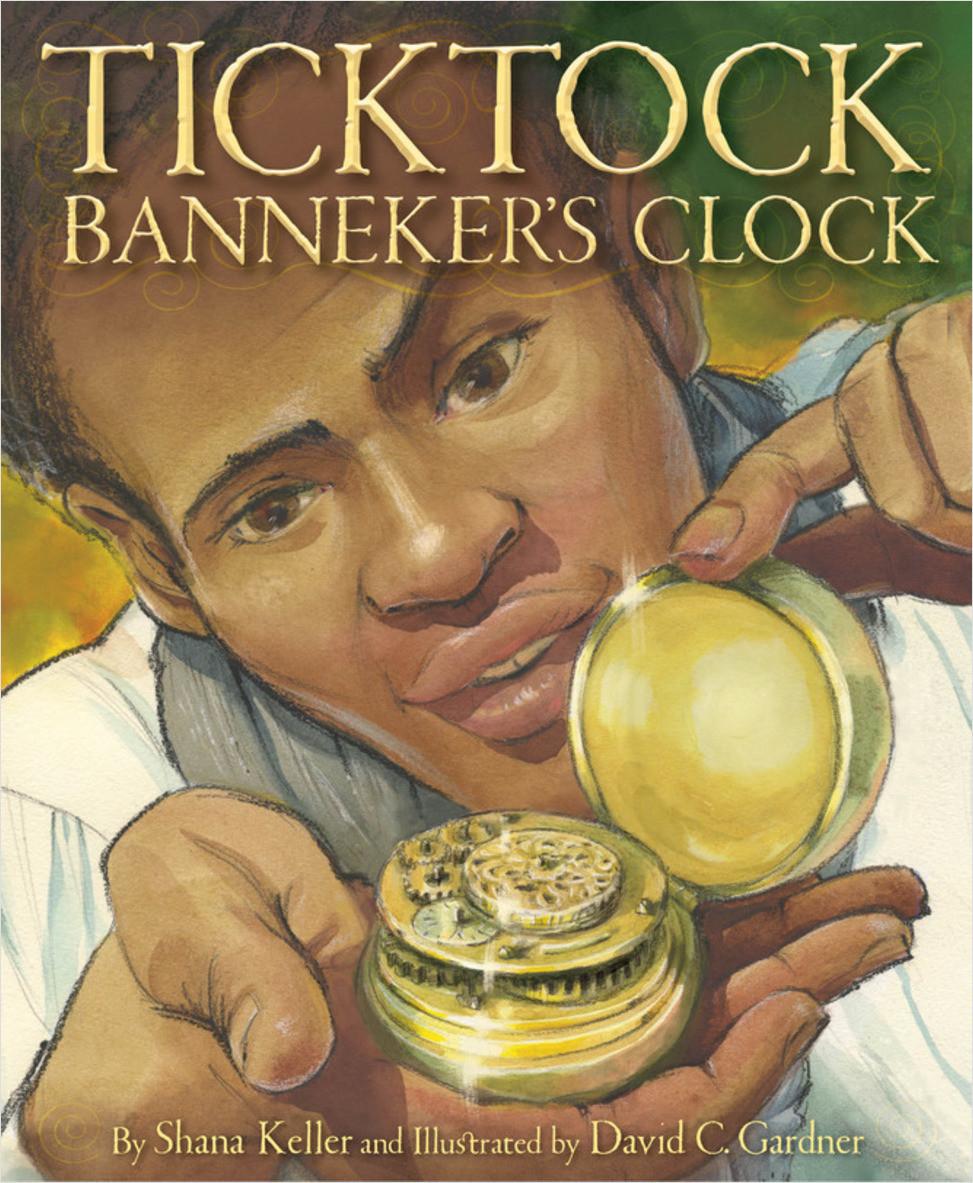 Cover: Ticktock Banneker's Clock