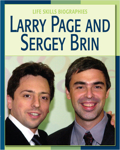 Cover: Larry Page and Sergey Brin