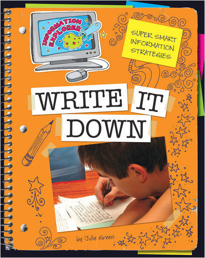 Cover: Write It Down